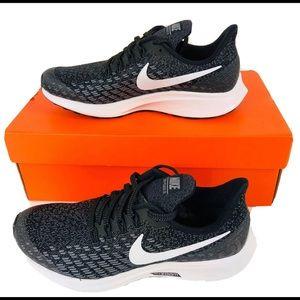 Nike Air Zoom Pegasus 35 GS Running Shoes Black 5Y